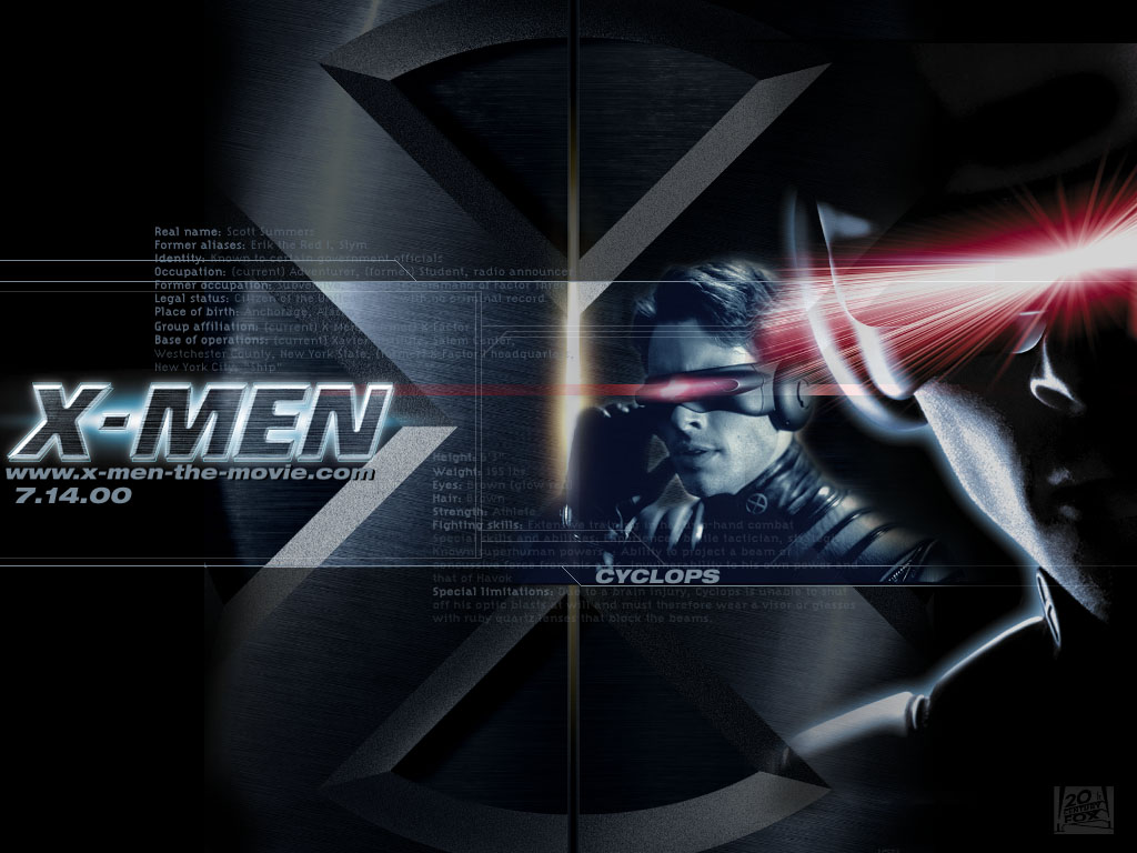The X Men Cyclops Wallpaper 1024x768