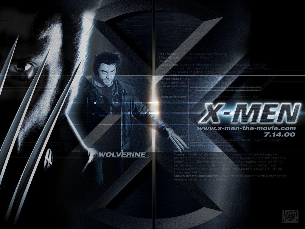 The X Men Wolverine Wallpaper 1024x768