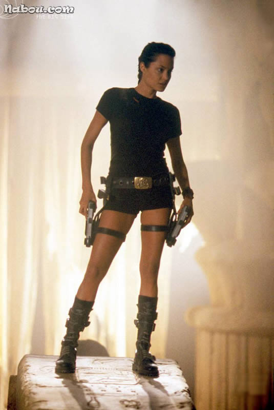 Angelina Jolie Photo From Tomb Raider The Movie